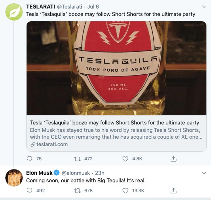 听说特斯拉要卖酒了?
