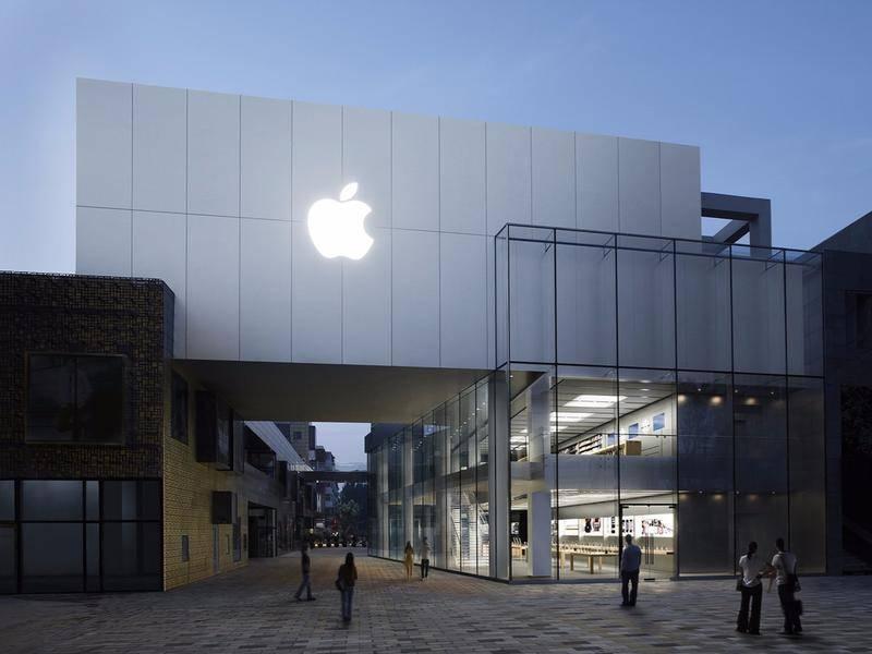 Apple Store进化史